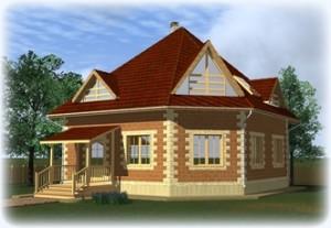 Проекты домов из теплоблоков до 150 кв.м.