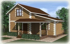Проекты домов до 100 кв.м