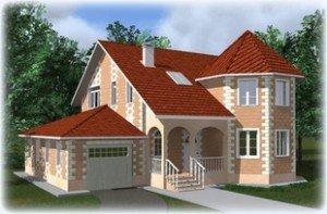Проекты домов из теплоблоков более 200 кв.м.