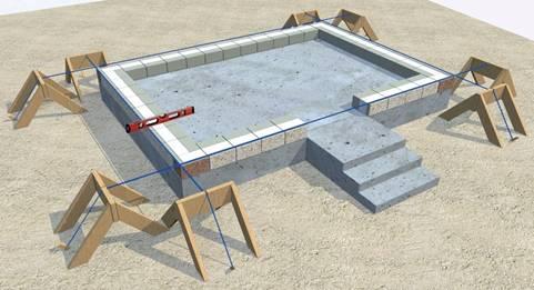 Как построить дом из теплоблоков
