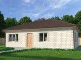 Проект дома из теплоблоков 92 1 9 Д