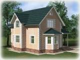Проект дома из теплоблоков 121 2 11 M
