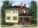 Проект дома из теплоблоков 135 2 12 D
