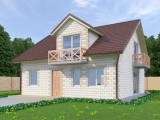 Проект дома из теплоблоков 163 2 10 M2