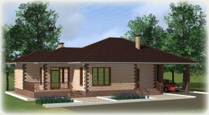 Проект дома из теплоблоков 171 1 12 Dn