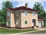 Проект дома из теплоблоков 190 2 13 Дг