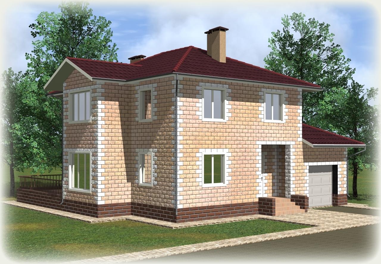 больше проекты домов из теплоблоков с гаражом фото здесь могут