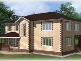 Проект дома из теплоблоков 254 2 13 D