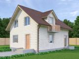 Проект дома из теплоблоков 120 2 12 M2