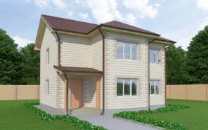 Проект дома из теплоблоков 139 2 12 Д2
