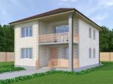 Проект дома из теплоблоков 165 2 13 Д2