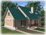 Проект дома из теплоблоков 215 2 14 Мг