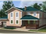 Проект дома из теплоблоков 291 2 19 Дг