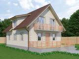 Проект дома из теплоблоков 177 2 14 M2