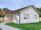 Проект дома из теплоблоков 94 1 7 Д