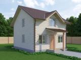Проект дома из теплоблоков 96 2 10 M2